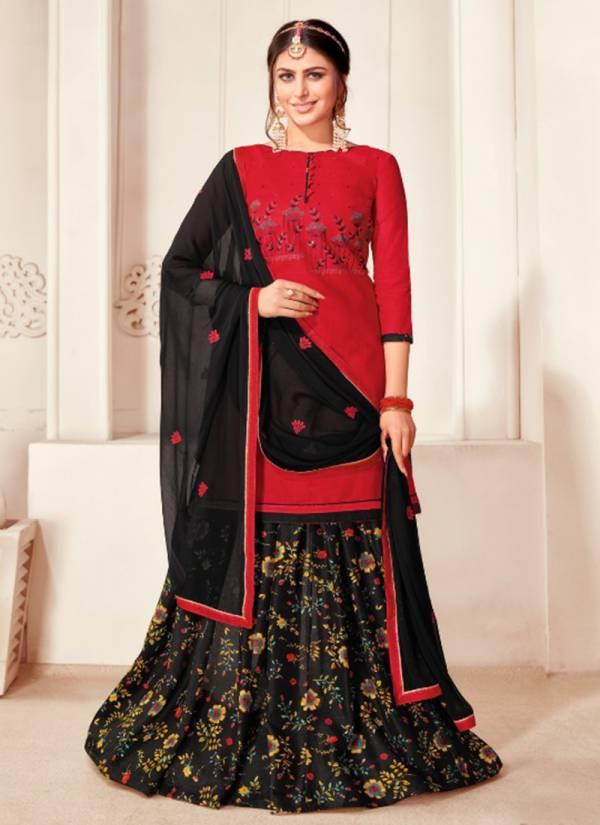 Kapil Tex Queen Vol 6 Cotton Slub Work Fancy Wear Designer Salwar Suits Collection