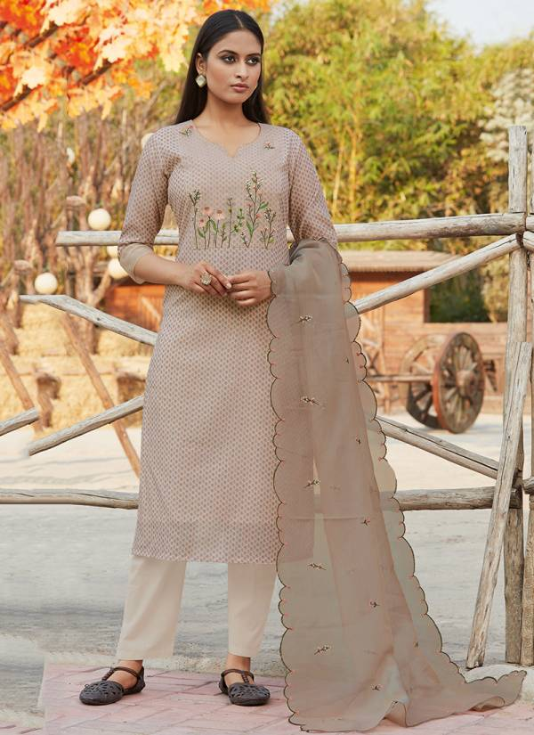Touch Trends Summer Paradise Chanderi Silk Daily Wear Salwar Suit Collection