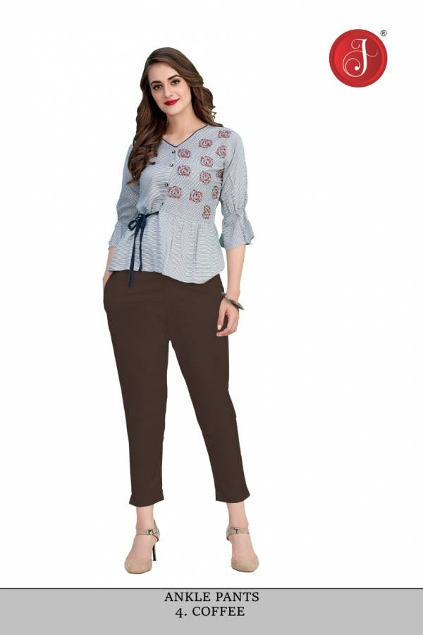 Jelite Ankle Pants Fancy Regular Wear Pants Collection