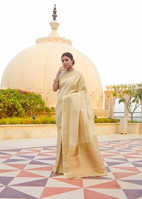 Shangrila Designer Karaikudi Silk Kanjivaram Zari Silk Work Party Wear Sarees Collection