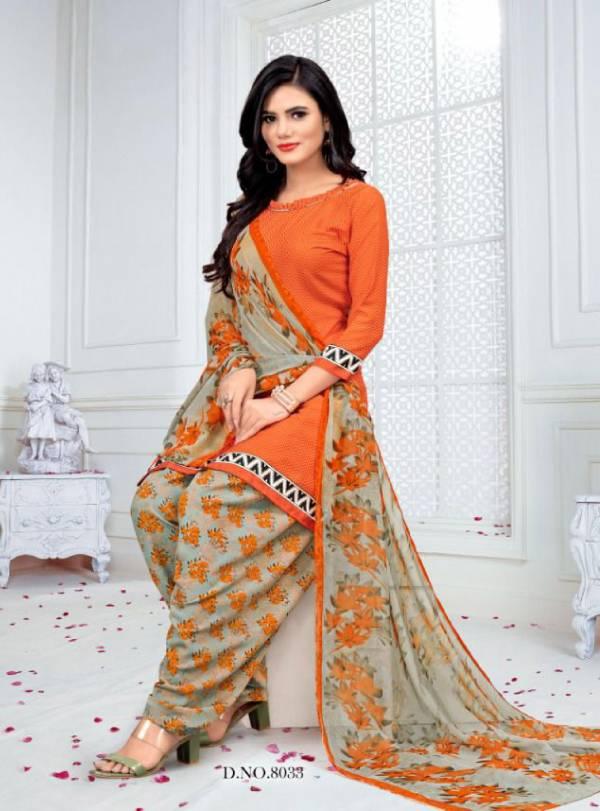 Vishnu Print Royal Patiyala Crepe Printed Casual Wear Patiyala Suits Collection