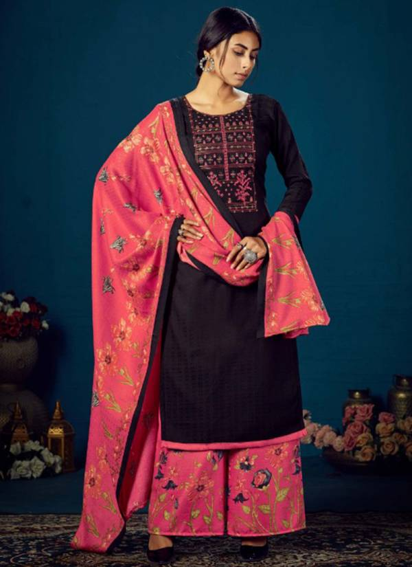 Zulfat Designer Suits Sohini Patiala Vol 4 Series 220-001-220-010 Pure Pashmina Print With Heavy Kashmiri New Style Embroidery Work Salwar Suits Collection