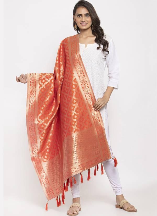 Kesari Exports Series PFB-24 - PFB-29 Silk Latest Designer Ramzan Eid Special Dupatta Collection