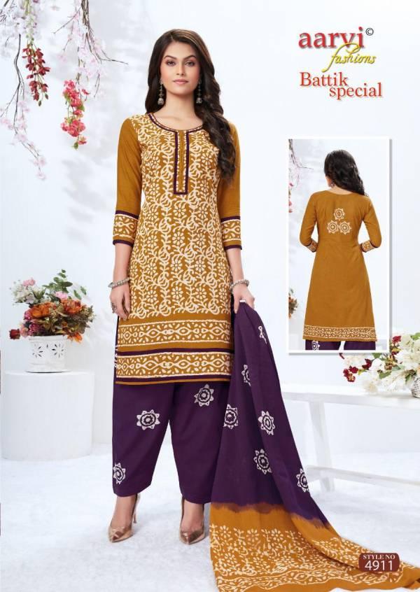 Aarvi Fashion Batik Special Vol 13 Cotton Cambric Pure Hand Wax Battik Patiyala Suits Collection