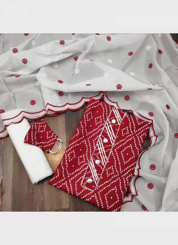 Maa Swaroop Suit Naari Slub Cotton With Print Work  Regular Wear Designer Non Catalog Salwar Suits Collection