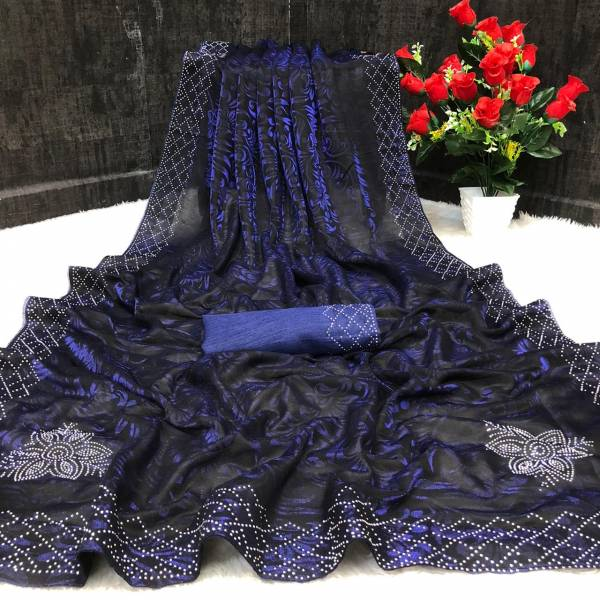 Redolence Foolwari Vol 3 Net Weaving And Stone Work Designer Sarees Collection