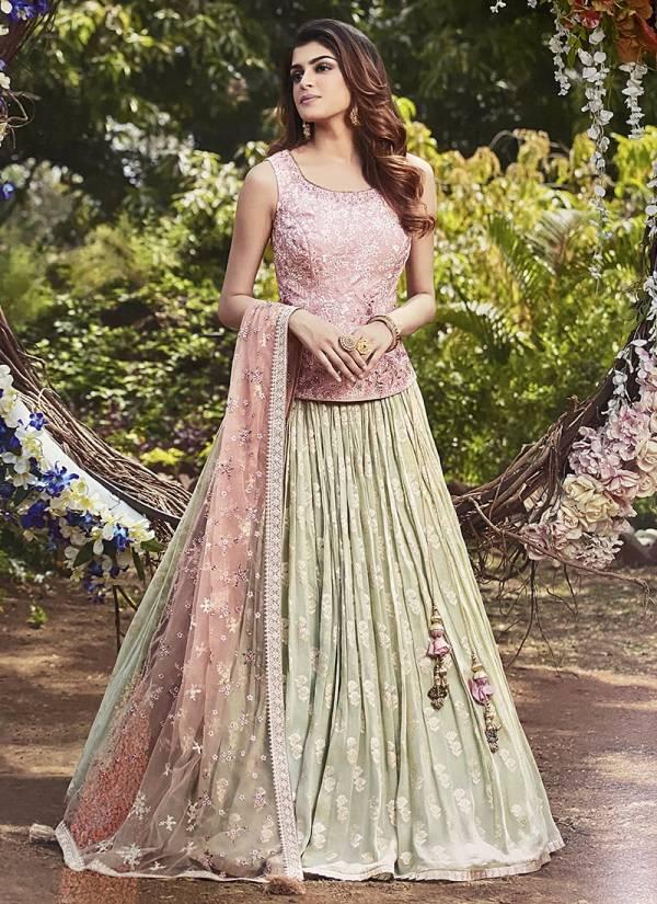 Ashish Series 08ASHISH-14ASHISH Fancy Heavy Fabric With Stylish Hand Work Gorgeous Look Designer Wedding Function Lehenga Cholis Collection