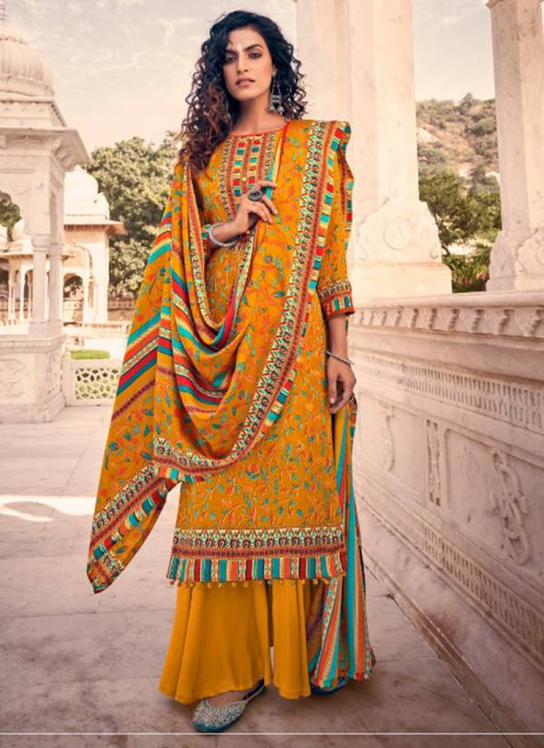 Belliza Aisha Vol 2 Series 462-001 - 462-010 Pure Pashmina Digital Style Print Stylish Look Casual Wear Suits Collection