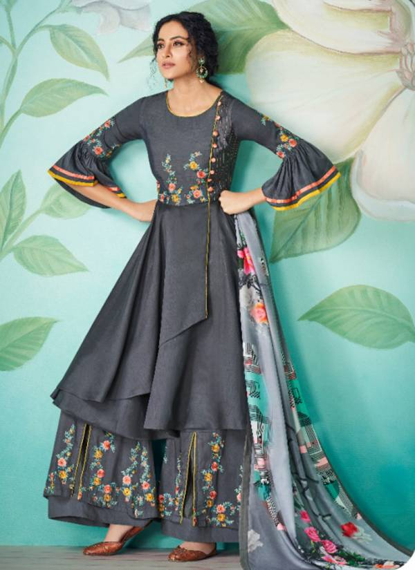 Vamika Chahat Vol 2 Series 806-811 Pure Muslin With Cotton Inner Readymade Palazzo Suits Collection