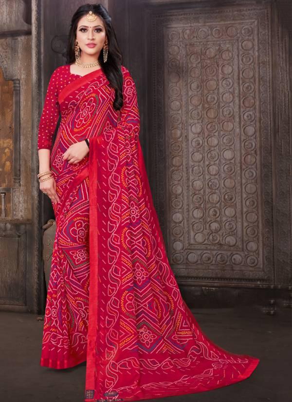 Kodas Colours Vol 48 Series 6641-6648 Heavy Dani Printed Fancy Casual Wear Sarees Collection
