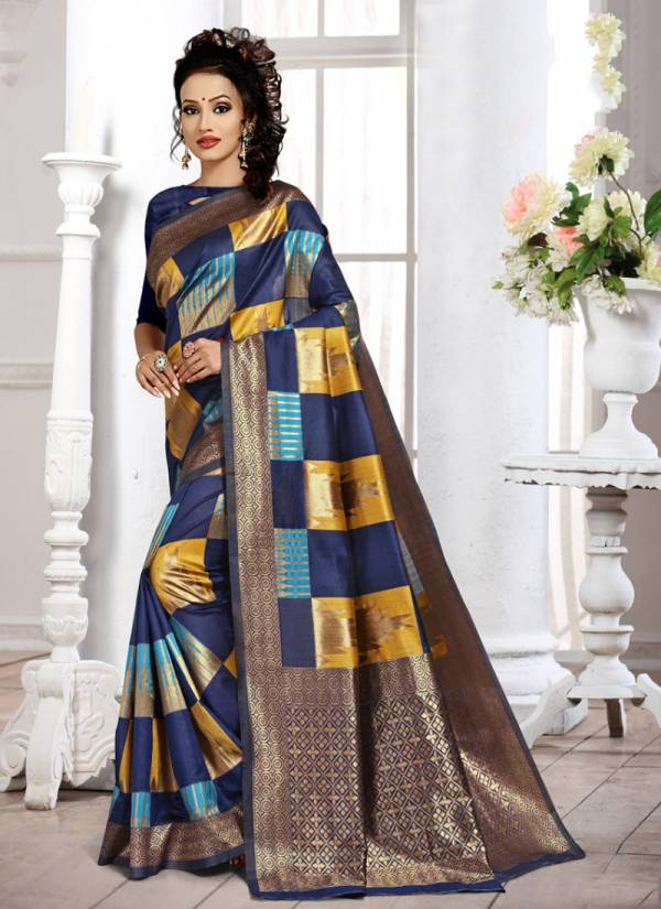 Kodas Spectrum Series 1104A-1140D Handloom Jacquard Silk Reception Wear Fancy Latest Rate Sarees Collection