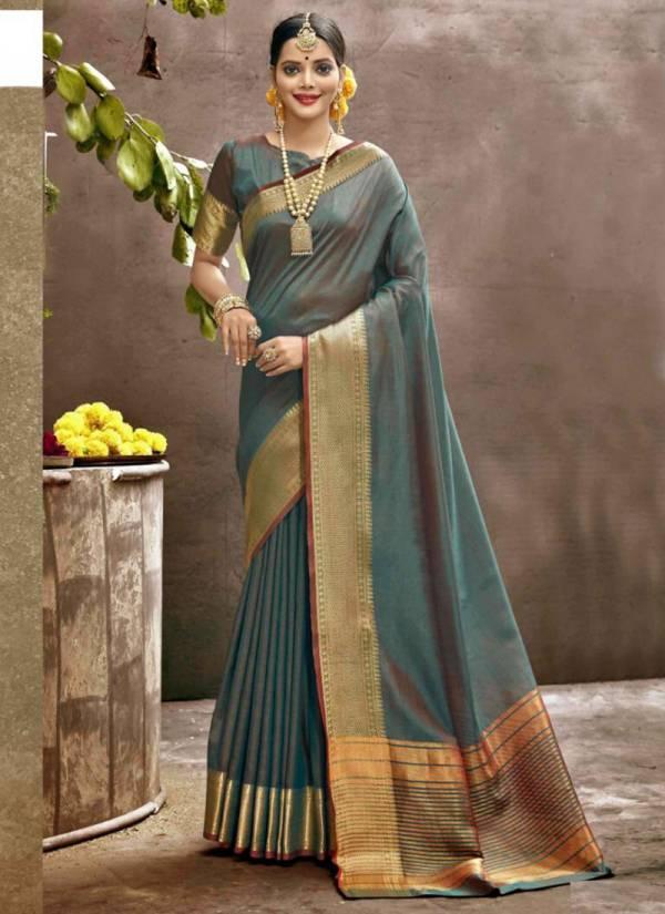 Shakunt Aahavan Art Silk Weaving Work Festival Wear Designer Sarees Collection