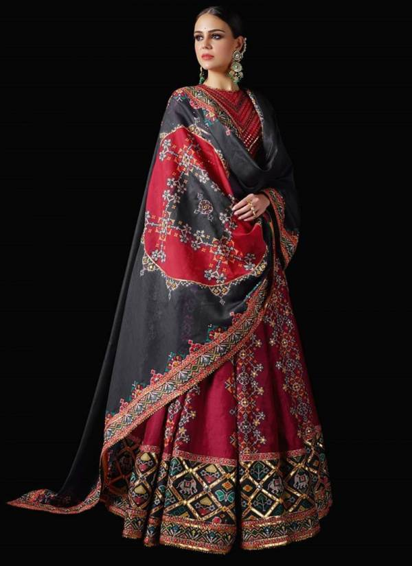 An Bazaar Palkhi Series 1001-1004 Killer Silk With Patola Printed Latest Designer Party Wear Lehenga Cholis Collection