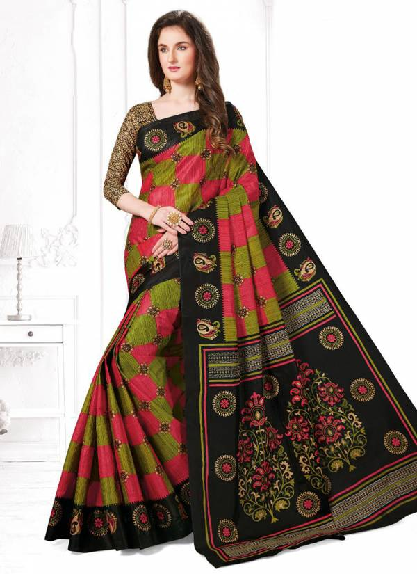 JK Cotton Club Tulsi Vol 4 Series 4001-4020 Pure Cotton New Fancy Daily Wear Printed Sarees Collection (Blouse Not Available)