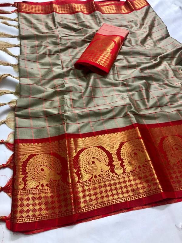 Varni Fabric Supriya Pure Cotton Silk Sarees Collection