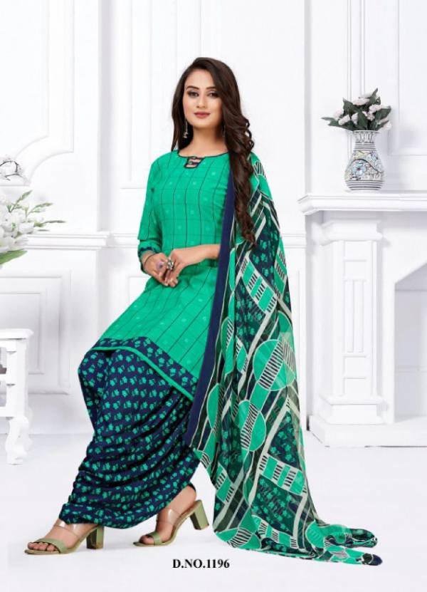 Vishnu Print Classic Rayon Fancy Readymade Designer Patiyala Suit Collection
