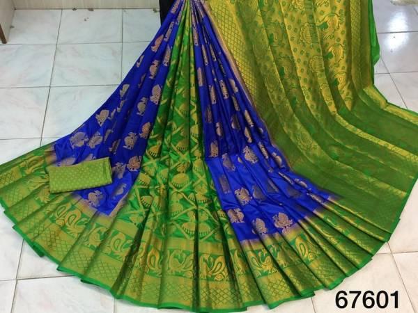 Nakshatra Fashion Studio Silk With Zari Weaving Work With Reach Pallu Designer Sarees Collection