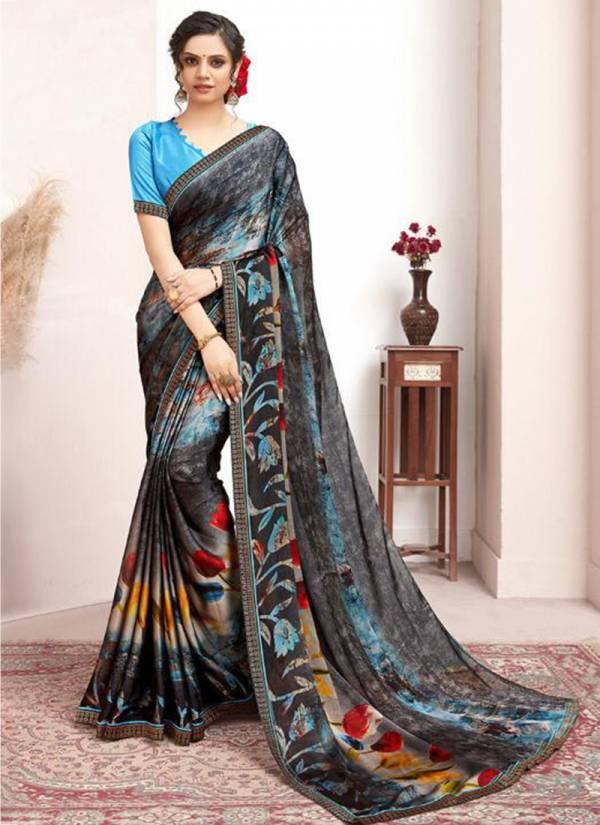 Stylewell Saguna Rangoli With Jacquard Border Latest Casual Sarees Collection