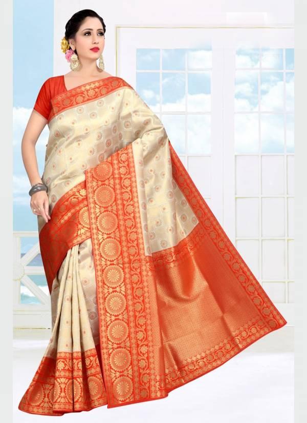 Vamika Fashion Kasturi Series 2015-2019 Soft Silk Designer Party Wear Sarees Collection