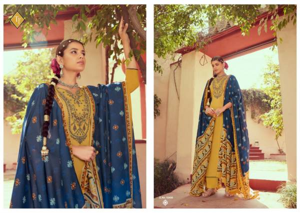 Tanishk Fashion Lkrat Pure Jam Silk with kashmiri embroidery Work Traditional Look Designer Suit Collection