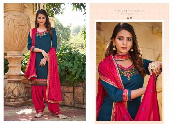 Kessi Patiyala House Vol 82 Jam Silk With Fancy Work Designer Patiyala Suits Collection