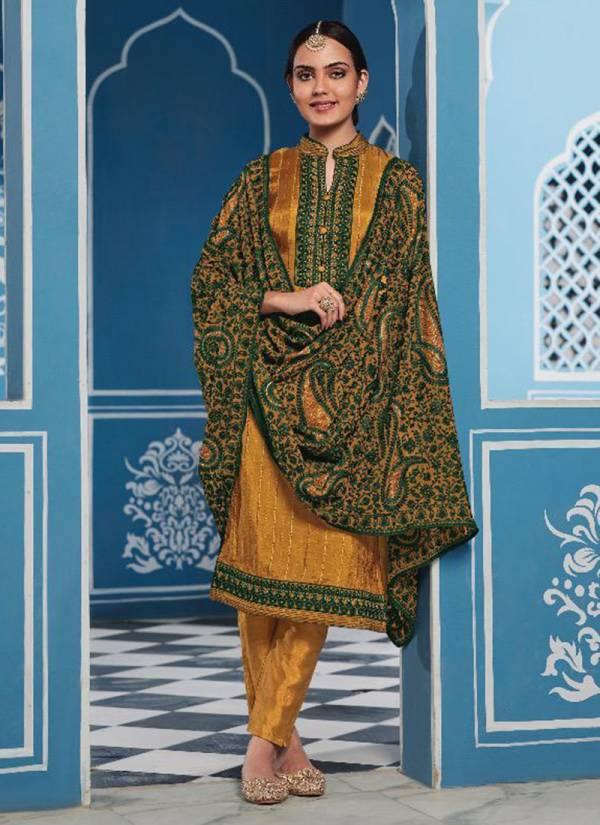 Maisha Present Manya M001-M004 Pure Upada Heavy Embroidery Work Latest Designer Festival Wear Churidar Suits Collection