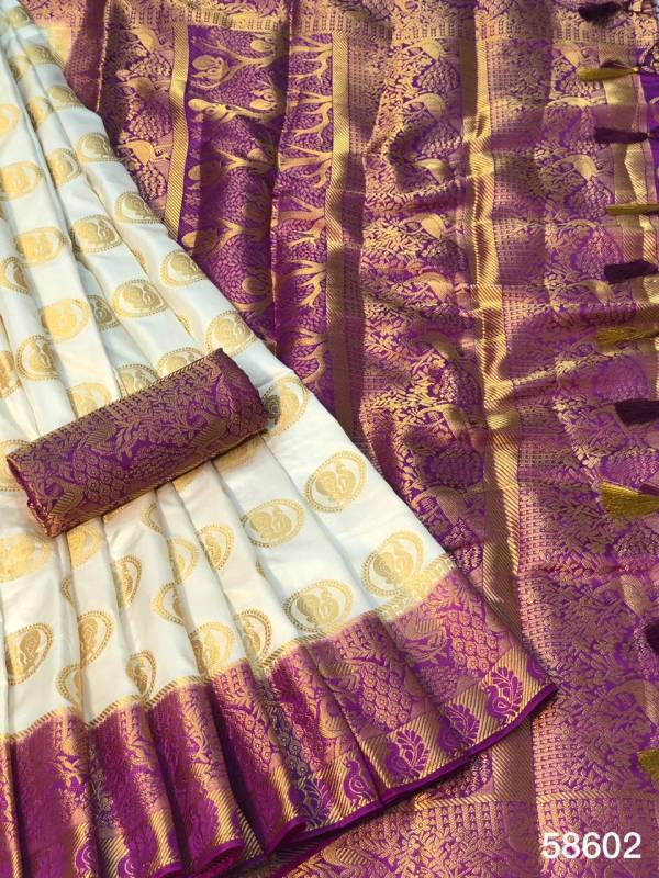 Nakshatra Fashion Studio Nylon Silk With Zari Weaving Work Fancy Designer Pallu Designer Sarees Collection