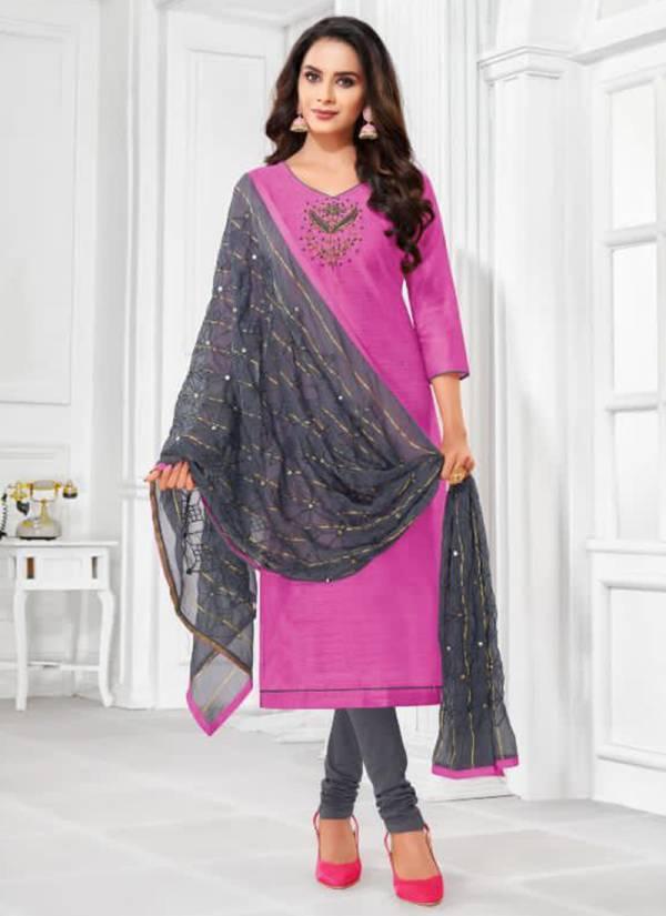 Shagun Balloon Vol 4 Series 4001SHAGUN-4012SHAGUN Jharna Silk With Hand Work New Fancy Daily Wear Churidar Suits Collection