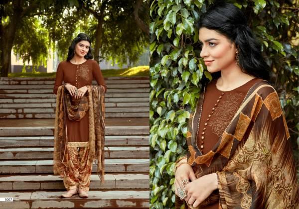 Sweety Fashion Pepsi Vol 11 Series 1001-1008 Rayon Slub With Swarovski Work & Lace New Designer Patiyala Suits Collection