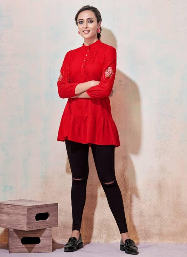 Vardan Designer Ira Vol - 1 Series 2001-2010 Heavy 14kg Rayon Party Wear Short Tops Collections