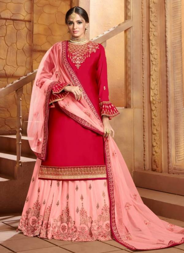 Amyra Designer Panghat Vol 7 Series 136-139 Satin Georgette With Exclusive Embroidery & Diamond Work New Designer Wedding Wear Lehenga Suits Collection