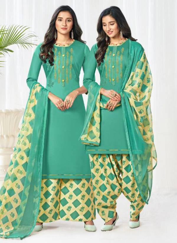 Vishnu Impex Taqdeer Series 18001-18012 Jam Silk With Stylish Embroidery Work Fancy Patiyala Suits Collection
