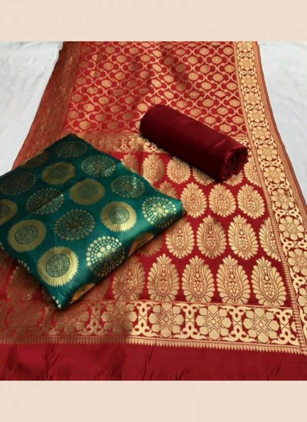 Rahul NX Series Banarasisilk A-Banarasi D Banarasi Silk Zari Work New Designer Festival Wear & Casual Wear Salwar Suits Collection