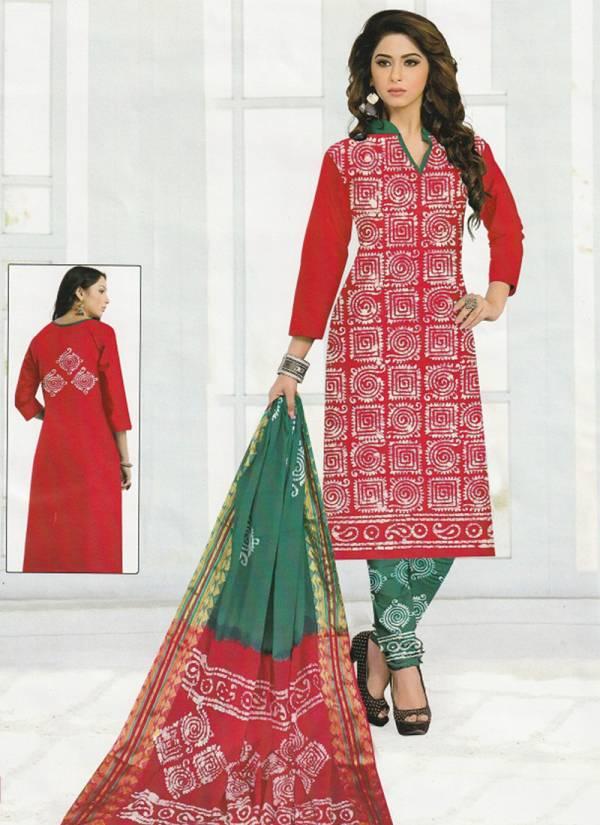 Wax Batik Hari Om Series 112-514 Cotton Batik Printed Special New Fancy Daily Wear Salwar Suits Collection
