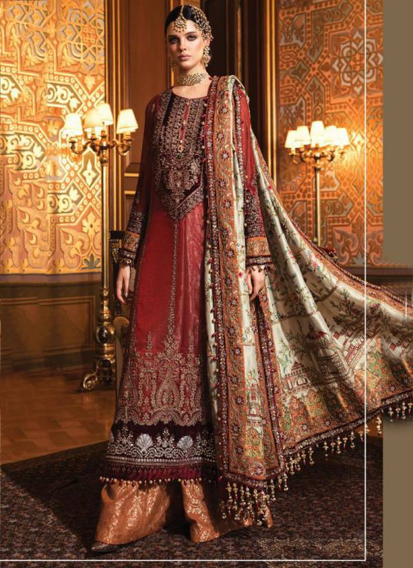 Fepic Rosemeen Embroide 21 Series 60005-60008 Net & Organza With Embroidery And Diamond Work Pakistani Suits Collection