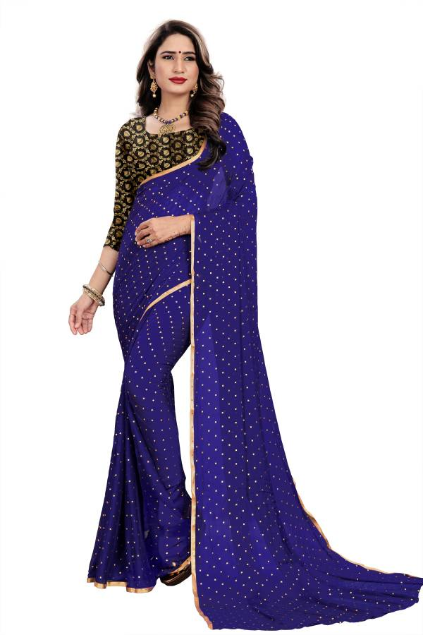 Chirag Star Series 01-11 Nazneen Chiffon With Duedrop Foil New Designer Sarees Collection
