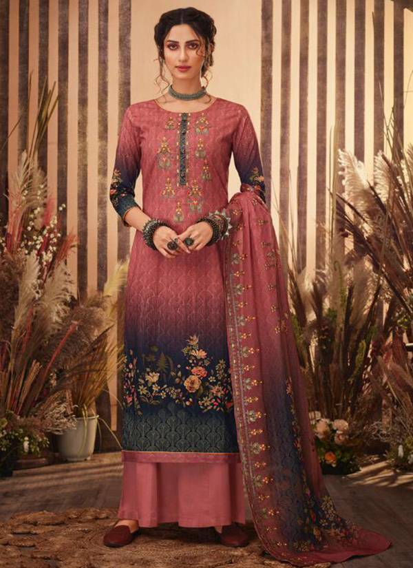 Vivek Fashion Ibaadat Vol -7 Cambric Cotton Lawn Digital Print With Embroidery Work Eid Special Wear Plazzo Salwar Suit Collections