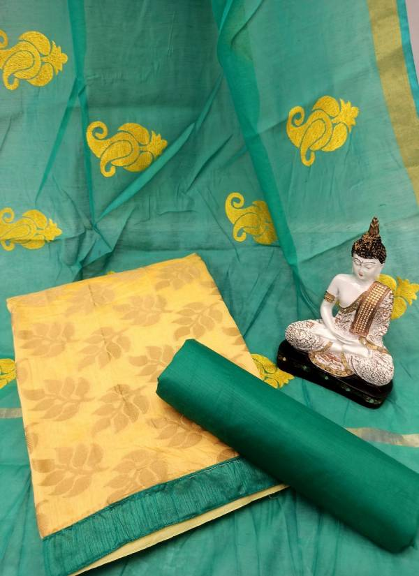 Rahul NX Bindiya Series 1001B-1010B Banarasi Jacquard Stylish Look Gorgeous Non Catalog Salwar Suits Collection