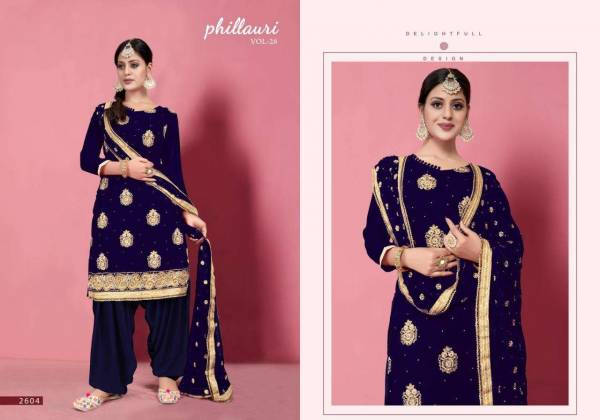 Kesari Export Phillauri Vol 26 Georgette Embroidery Eid Special Suits Collection