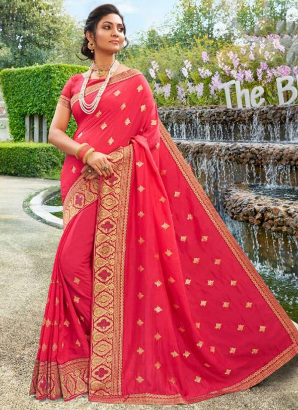 Saroj Jyotika Series 148001-148008 Vichitra Silk Festival Wear New Designer Fancy Butta Work Sarees Collection