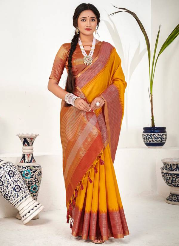 Ara The Yarn Story Latest Designer Traditional Wear Fancy Sarees Collection