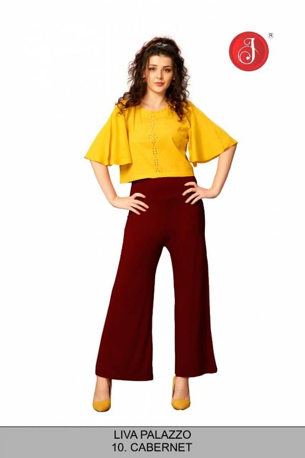 Jelite Liva Fancy High waist Palazzo Collection
