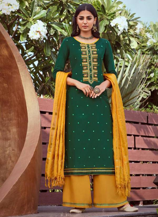 Kessi Tyohaar Series 2541-2548 Jam Silk With Embroidery Work & Fancy Khatli Work Festival Wear Readymade Suits Collection