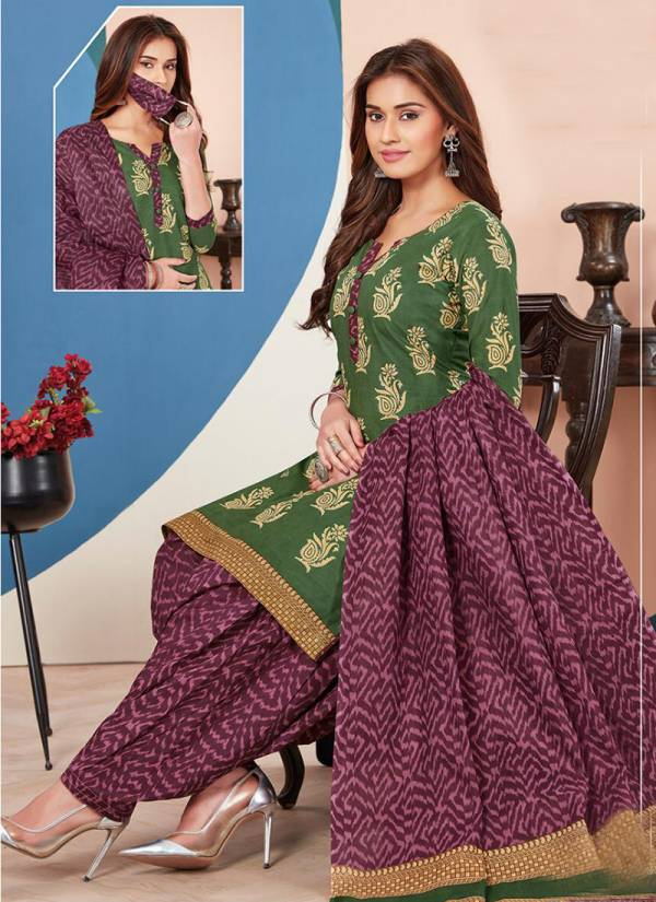 Aarvi Fashion Super Patiyala Vol 3 Series 4871-4882 Cambric Cotton Daily Wear New Fancy Patiyala Suits Collection