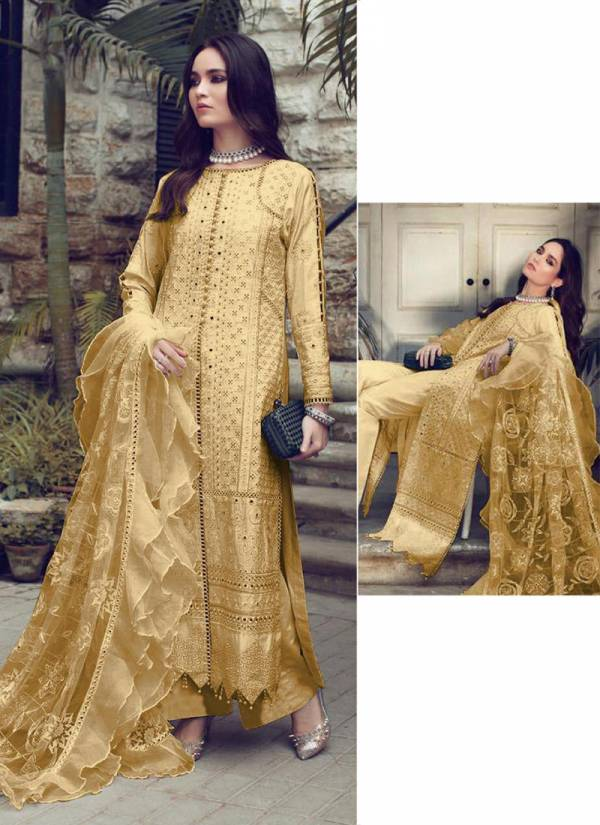 Saniya Trendz Rouch Series 32003A-32003E Cambric Cotton With Chikankari Work & Hand Work Ramzan Eid Special Pakistani Suits Collection