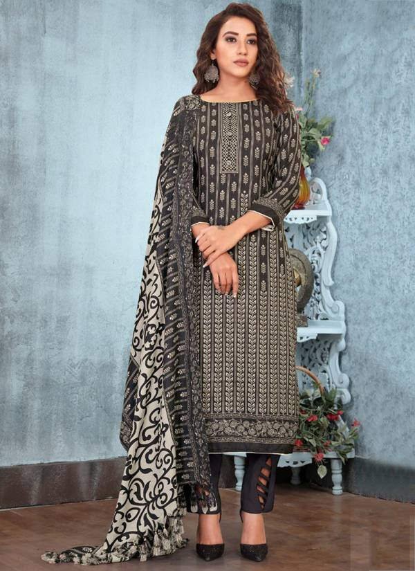 Bipson Kyraa Vol 1 Series 1218-1221 Pure Pashmina Print With Work Winter Special Office Wear Salwar Suits Collection