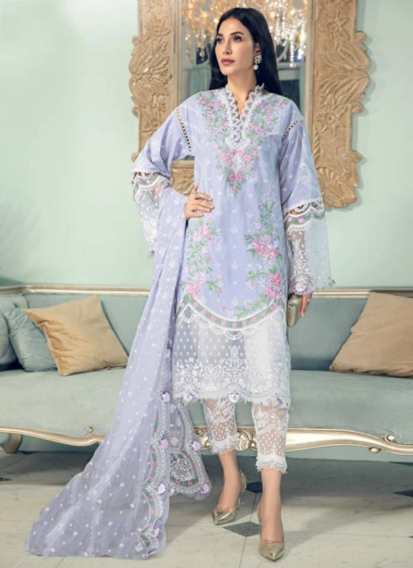 Sairoz Firdous Cotton Digital Printed Embroidery Work Party Wear Designer Pakistani Suits Collection