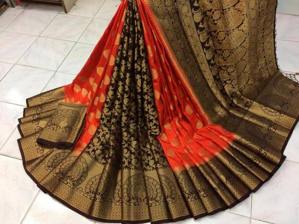 Nakshatra Fashion Studio Nylon Silk With Zari Weaving Reach Pallu Treading Look Designer Non Catalogues Sarees Collection