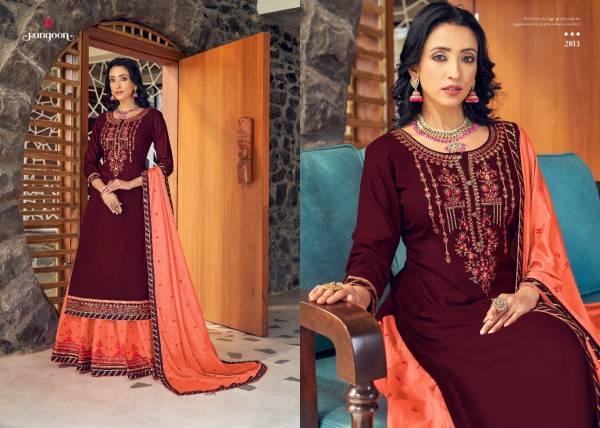 Rangoon Panihari Premium Heavy Rayon With Fancy Work Readymade Lehenga Suits Collection