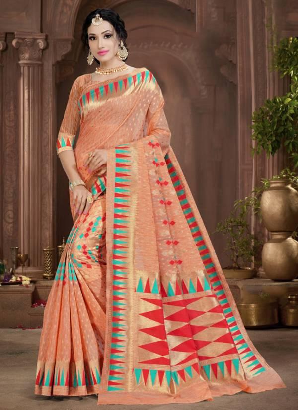 Kodas New Girl Series 1157A-1157D Handloom Jacquard Silk Exclusive Designer Festival Wear Sarees Collection